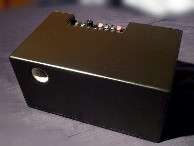 Shoebox-sized Subwoofer with 5 1 decoder