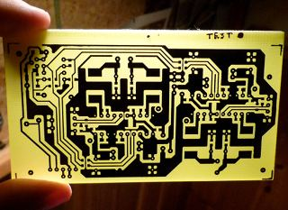 Creating PCBs with the toner transfer method